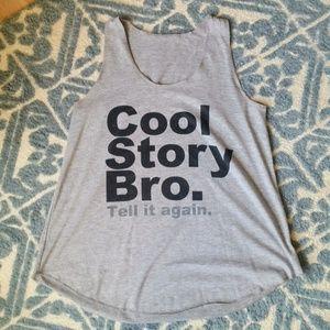 COOL STORY BRO .